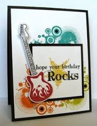 guitar birthday card pop princess bday cards for woman happy