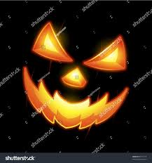 halloween jack o lantern smiley face stock vector 83771212