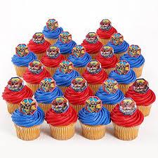 bumblebee transformer cake topper transformers toppers transformers officially licensed 24 cupcake topper rings bakery