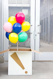 balloons in a box create your own balloon box in ideas for planning