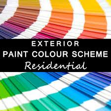 Colour Scheme Candy U0026 Co Emporium Exterior Paint Colour Scheme Residential