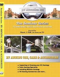 Ppl Rv Awnings Rv Awning Use Care And Accessories Dvd