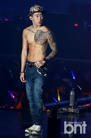 bntnews bnt photo jay park showing off some great tattoo