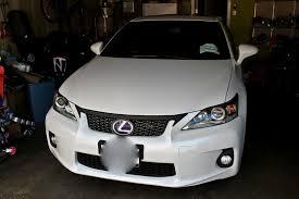 lexus ct200 custom 3m wrap front upper grille part