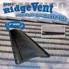 Flat Tile Roof Lomanco Vents Lor9 4 On Flat Tile Roof