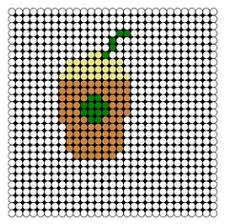 patterns on melty bead board food easy google search perler