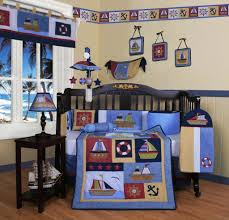Nursery Bedding Sets For Boys by Geenny Baby Boy Sailor 13pcs Crib Bedding Set