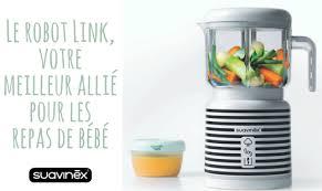 les robots de cuisine les 4 avantages du link pour préparer le repas de bébé