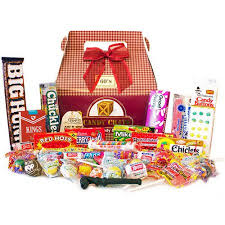 candy gift basket candy crate 1960 s retro candy gift box 2 5 lbs walmart