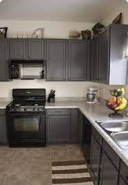 kitchen cabinets painted gray kitchen kitchen black appliances grey cabinets stunning painted
