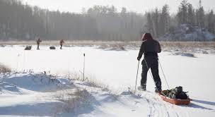 boundary waters dog sledding u0026 cross country skiing outward bound