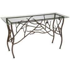 Ultra Thin Console Table Console Table Remarkable Wrought Iron Console Tables In Table