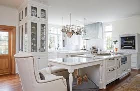 kitchen island with table built in the gourmet s kitchen