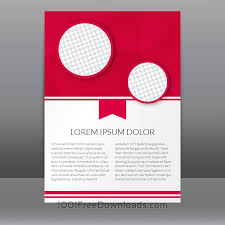 free flyer designs free vectors red flyer template with polygonal background abstract