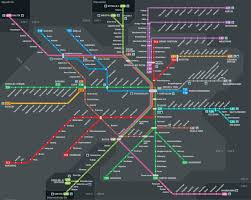 Light Rail San Jose Map by Transit Maps