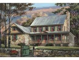Stone Farmhouse Plans by The Edgewood Traditional Country Farmhouse Plan Favething Com