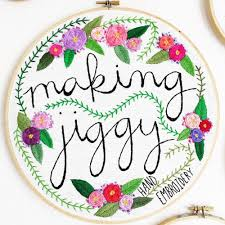 Embroidery Designs For Bed Sheets For Hand Embroidery Hand Drawn Embroidery Patterns By Makingjiggy On Etsy