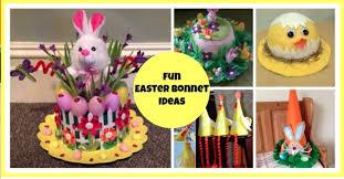 Easter Bonnet Decorating Ideas by 12 Fun Easter Bonnet Ideas Mum U0027s Lounge