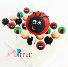 ladybug cake pops this ladybug to complete this picnic themed cake pop set