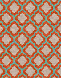 Rugs With Teal Mafi Signature 16 Design Concepts Quatrafoil Mango Teal