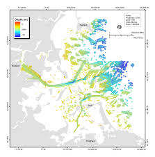 Boston Harbor Map by Usgs Open File Report 2006 1008 High Resolution Geologic Mapping