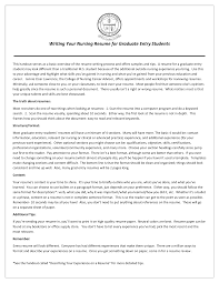 Nursing Resume Objective New Grad Nurse Cover Letter Example Recent New Graduate High Gpa