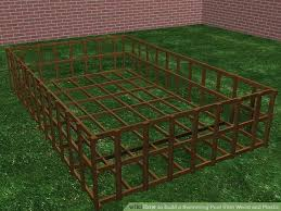 How To Build A Backyard Pool by How To Build A Swimming Pool From Wood And Plastic 11 Steps