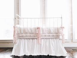 White Ruffle Crib Bedding Crib Bedding Baby Bedding White Crib Bedding Baby