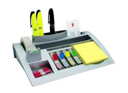 Office Desk Organizers by Amazon Com Post It Desktop Organizer 12 X 8 X 3 Inches Black