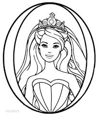 nice image collection of barbie coloring pages printable free