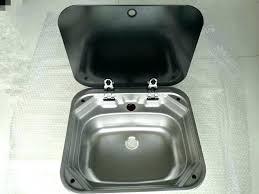 Camper Faucet Rv Stainless Steel Kitchen Sink U2013 Intunition Com