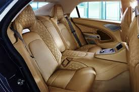 bentley interior back seat aston martin u0027s new 1 million 195 mph limousine wsj