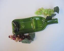 wine bottle serving dish sassy clear wine bottle serving dish