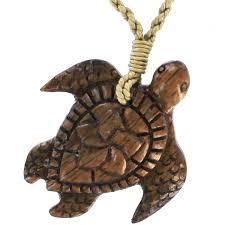 Koa Wood Plumeria Flower Sterling Silver Pendant Koa Wood Necklace Sea Turtle With Plumeria 30 Liked On