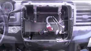 2013 Ram 1500 Wiring Diagram How To Remove Dash 2013 2014 Dodge Ram 1500 And Install New Stereo