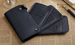store all your cards in this handsome 30 slot leather card holder