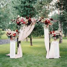 wedding arches diy wedding arch decoration ideas with flowers and
