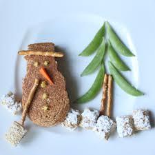 christmas edible art snowman sandwich itsy bitsy foodies