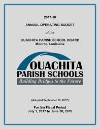 investor relations ouachita parish system