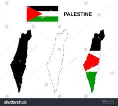palestine map vector palestine flag vector stock vector 328837940
