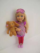 barbie sisters pinktastic slumber party 3 dolls chelsea stacie