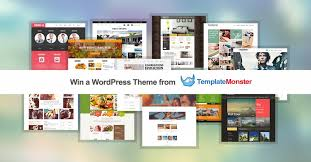 design contest wordpress theme win a premium wordpress theme from templatemonster web design fact