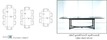 average kitchen table size average height of dining table ergonomic dimensions for furniture