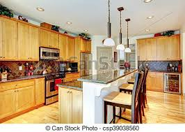 kitchen with brown cabinets kitchen room with brown cabinets stainless steel granite counter top