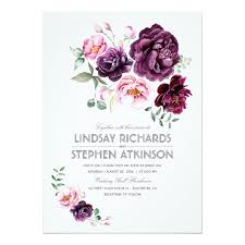 wedding invitations burgundy boho wedding invitation bohemian wedding invitations