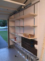 Wood Shelving Plans Garage by Garage Shelving Ideas Wood Garage Shelf Garage Shelving Ideas