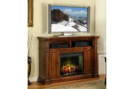 70 inch electric fireplace tv stand costco rustic brown home