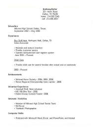 resume templates high school high school student resume template gentileforda