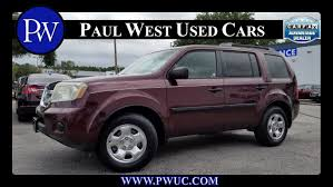 grey honda pilot 2009 honda pilot lx in gainesville fl for sale