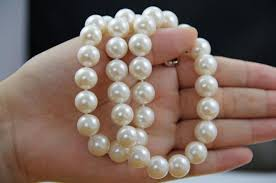 natural freshwater pearl necklace images 2018 luxury large particles 10 11 mm is round bright light natural jpg
